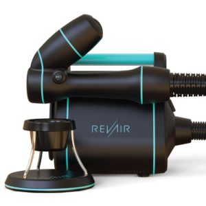Reverse-Air Hair Dryer