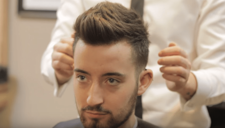 Faux Hawk With Surgical Design