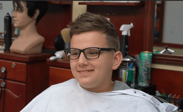 Short Teenage Cut